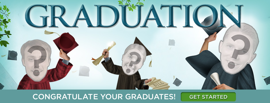 Congratulate your graduate!