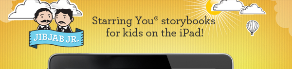 Starring You® storybooks for kids on the iPad!